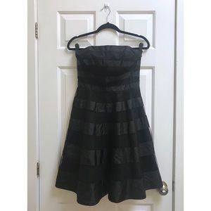 [Fredrick's Of Hollywood] Black Strapless Dress
